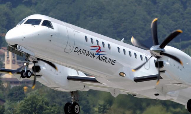 Die Schweizer Regionalfluggesellschaft Darwin Airline