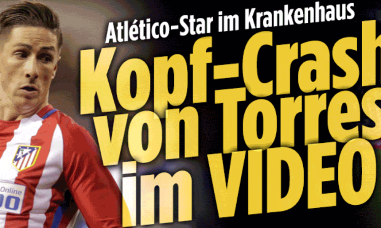 BILD Crash Torres