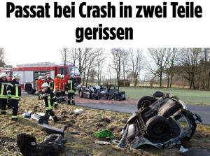 BILD Crash passat