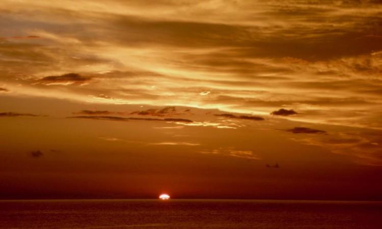Sonnenaufgang, nicht Endzeit - Bild privat 2018