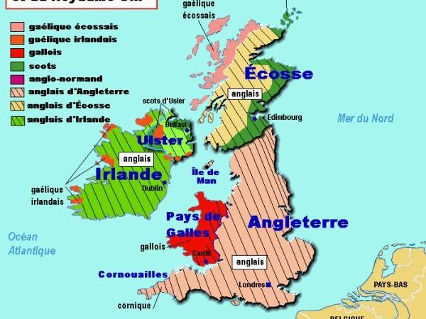 Grande Bretagne und seine Sprachen