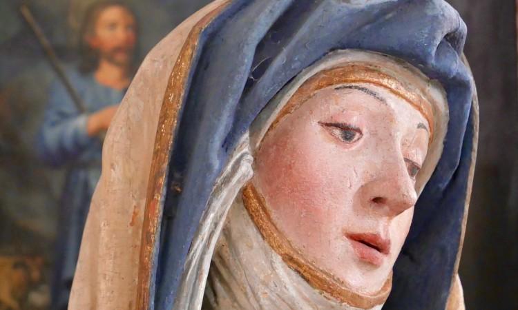 Frau und Mann - Detail aus sakraler Kunst (c)