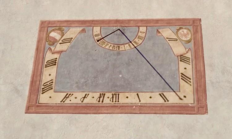 Sonnenuhr in Lana - Anaximander führte diese Technologie angeblich von Babylon ein